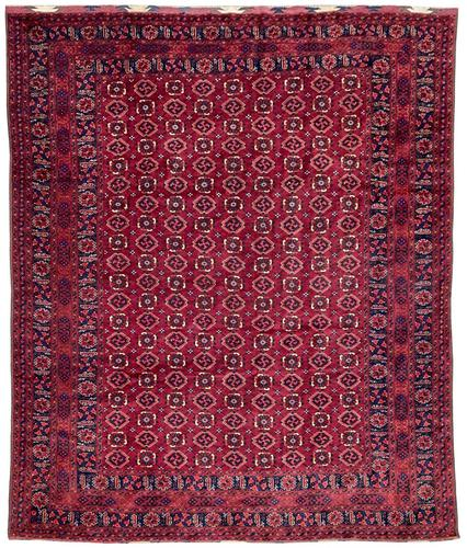 Antique Afghan Beshir Carpet (1 of 11)