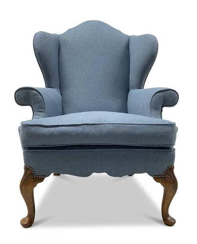 Queen Anne Style Armchair (1 of 3)