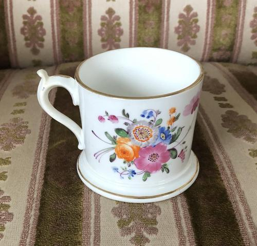 Early 19th Century Small Coalport Floral Tankard (1 of 6)