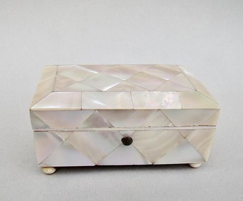Victorian Large Mother of Pearl Needle Case c.1880 (1 of 9)