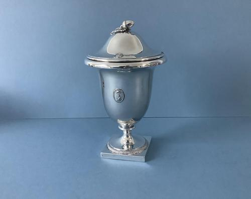 Antique Solid Silver Sauce Urn (1 of 7)