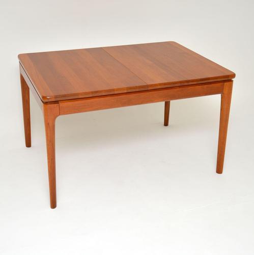 Danish Vintage Solid Teak Extending Dining Table (1 of 10)