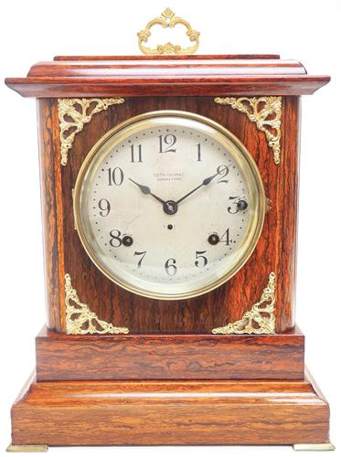 Amazing Seth Thomas Sonora chime mantle clock 8 Day Westminster Chime Bracket Clock (1 of 11)