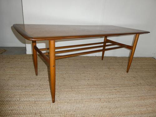 Large Swedish Teak Coffee Table by Alberts (1 of 9)