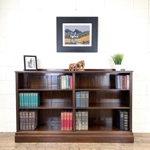 Late 20th Century Mahogany Bookcase (1 of 9)