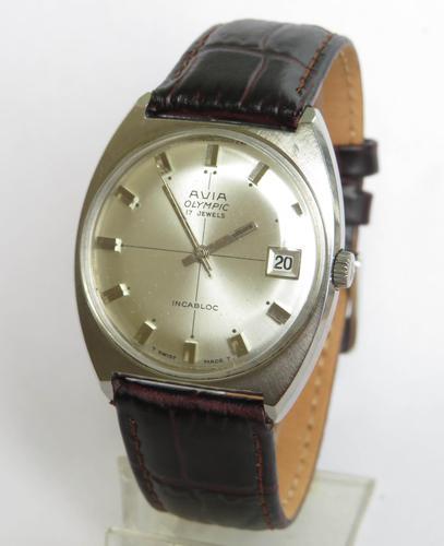 Gents Avia Olympic Wristwatch, 1960s (1 of 5)