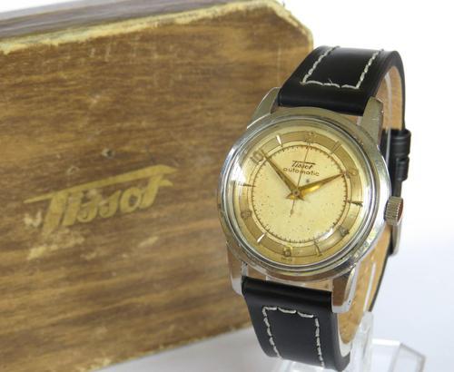 Gents Tissot Bumper Automatic Wrist Watch, 1953 (1 of 6)
