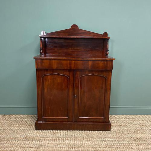 Quality Victorian Antique Mahogany Chiffonier / Sideboard (1 of 10)