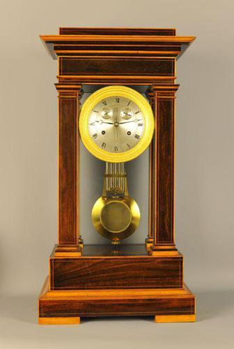 Precision Table Regulator Clock with calendar (1 of 11)