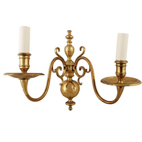 Early 20th Century Brass Wall Sconce (1 of 7)