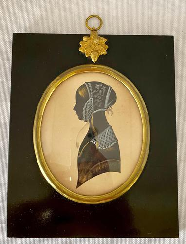 Mid Victorian Silhouette. c1870. (1 of 5)