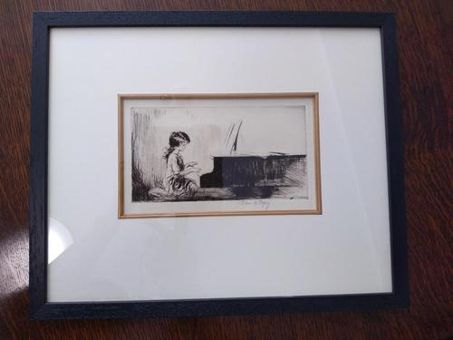 Piano Practise by Eileen Alice Soper Rms, SWLA (1 of 4)