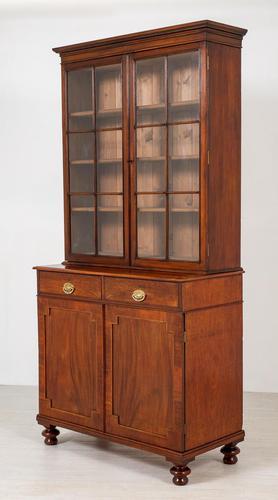 William IV Mahogany Glazed Bookcase (1 of 13)