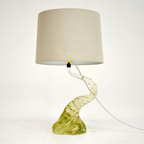1960's Italian Murano Glass Table Lamp (1 of 6)