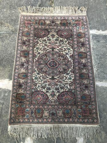 Antique Mughal Kashmir Wool Carpet (1 of 8)
