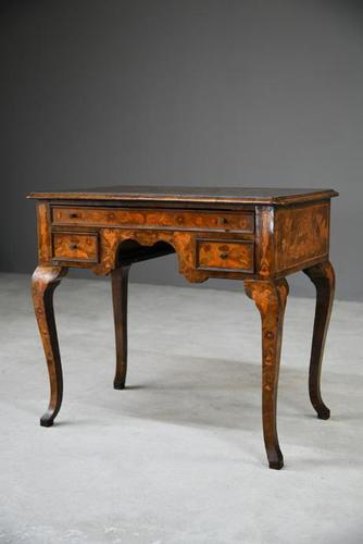 Dutch Marquetry Lowboy (1 of 13)