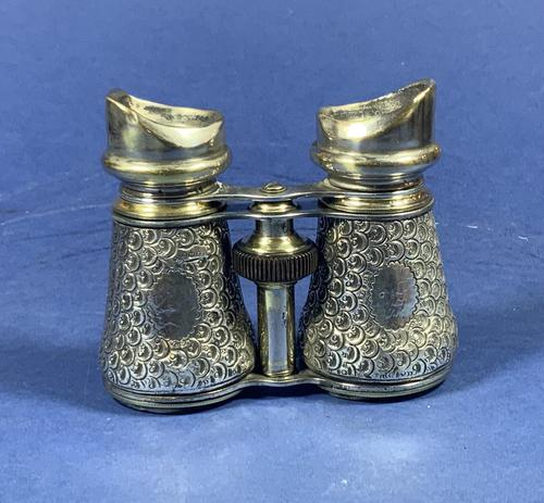 19th Century London Silver Hallmarked Binoculars (1 of 10)