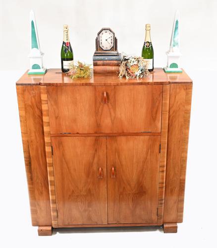 Vintage Art Deco Cocktail Cabinet Drinks 1930s (1 of 11)