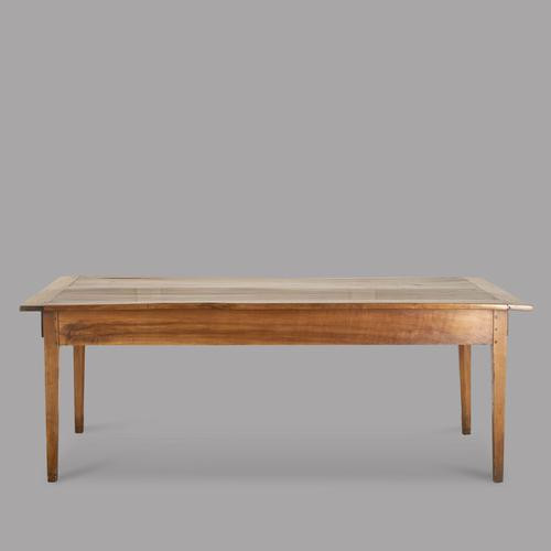 Excellent Mid 19th Century French Fruitwood Farmhouse Table (1 of 4)