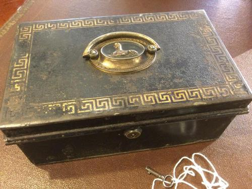 Toleware Box With Bramah Lock (1 of 8)