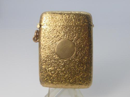 9ct Gold Vesta (1 of 8)