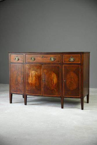 Antique Mahogany Side Cabinet (1 of 8)