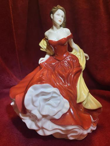 "Royal Doulton Figurine Titled ""Winter Ball"" from Pretty Ladies Collection HN5466 (1 of 9)"