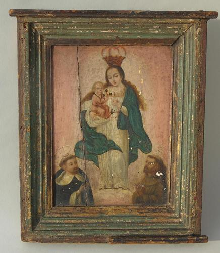 Antique Oil Painting Madonna & Child Murillo 18th Century (1 of 8)