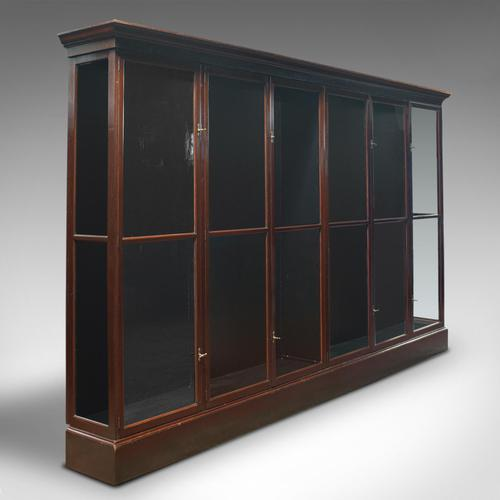Huge Antique Shop Cabinet, English, Retail Display Showcase, Victorian c.1900 (1 of 10)