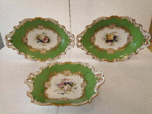 Group of Three Coalport Dishes (1 of 6)