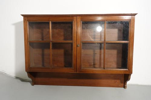 Good Early 20th Century Glazed Hanging Cabinet (1 of 2)