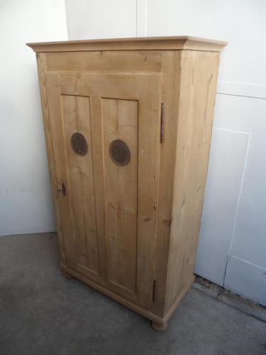 Victorian 1 Door Antique Pine Kitchen / Storage Cupboard to wax / paint (1 of 8)