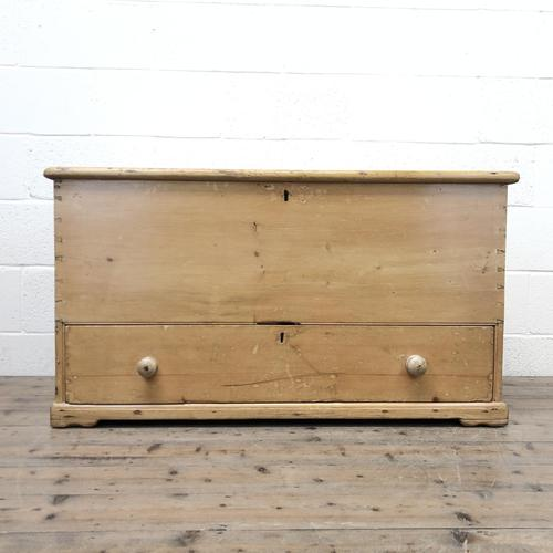 Large 19th Century Pine Chest (1 of 8)