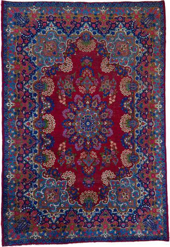 Antique Persian Kerman Rug (1 of 16)