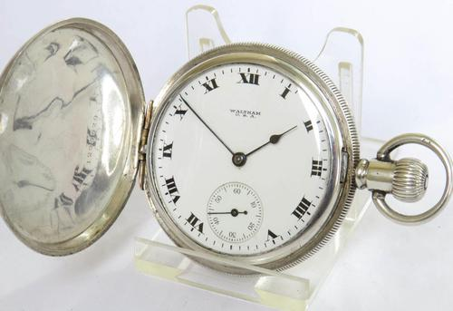 Antique Silver Waltham Pocket Watch 1917 (1 of 5)