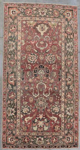 Antique Indian Amrytzer Rug 270x142cm (1 of 5)