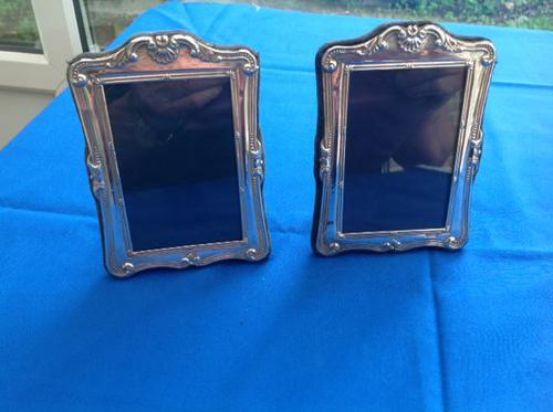 Pair of Silver Photo Frames (1 of 3)