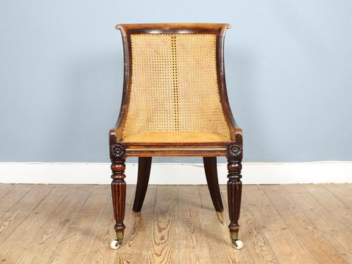 19th Century Victorian Caned Occasional Chair (1 of 9)