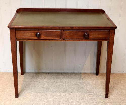 Late 19th Century Mahogany Writing Desk c 1890 (1 of 10)