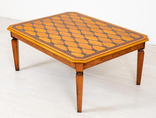 Satinwood Inlaid Coffee Table (1 of 6)