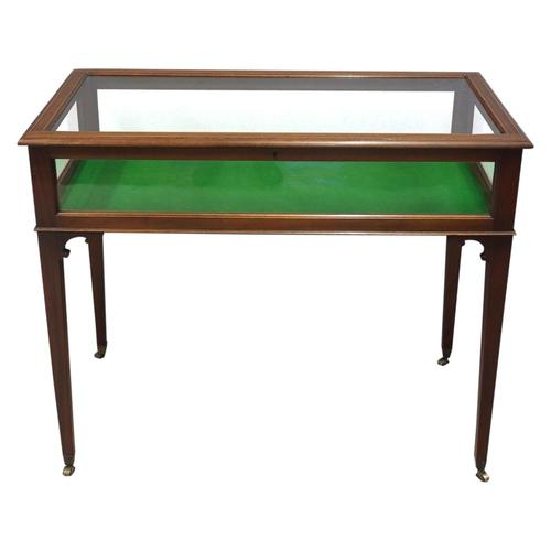 Sheraton Style Inlaid Mahogany Bijouterie Cabinet / Table (1 of 7)