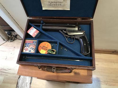 Wesley Richard 1907 Air Pistol (1 of 12)