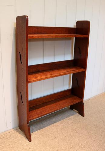Oak Open Bookshelves (1 of 8)
