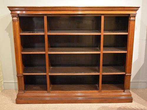 19th Century Triple Section Mahogany Bookcase (1 of 8)