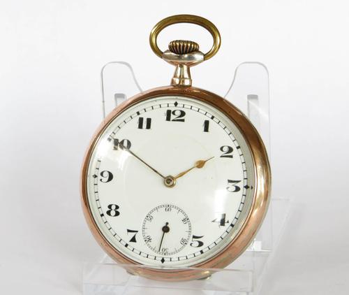 1920s Silver Galonne Pocket Watch (1 of 5)