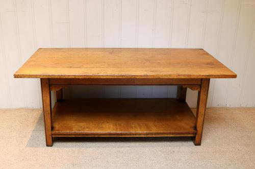 Solid Oak Coffee Table c.1960 (1 of 6)