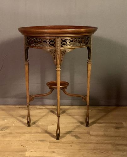 Fine Quality Edwardian Side or Lamp Table (1 of 10)