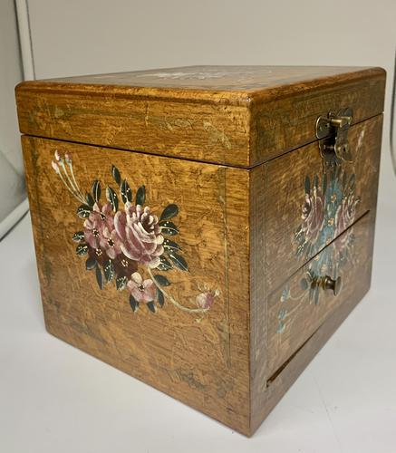 Ladies Fully Fitted Jewellery Box c.1960 (1 of 6)