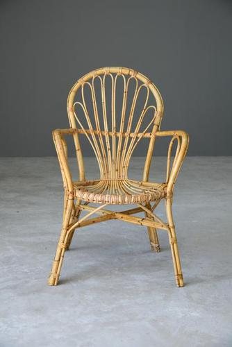 Retro Cane Occasional Chair (1 of 10)