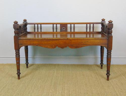 Good Aesthetic Mahogany Window Seat by Henry Pitts of Leeds (1 of 12)